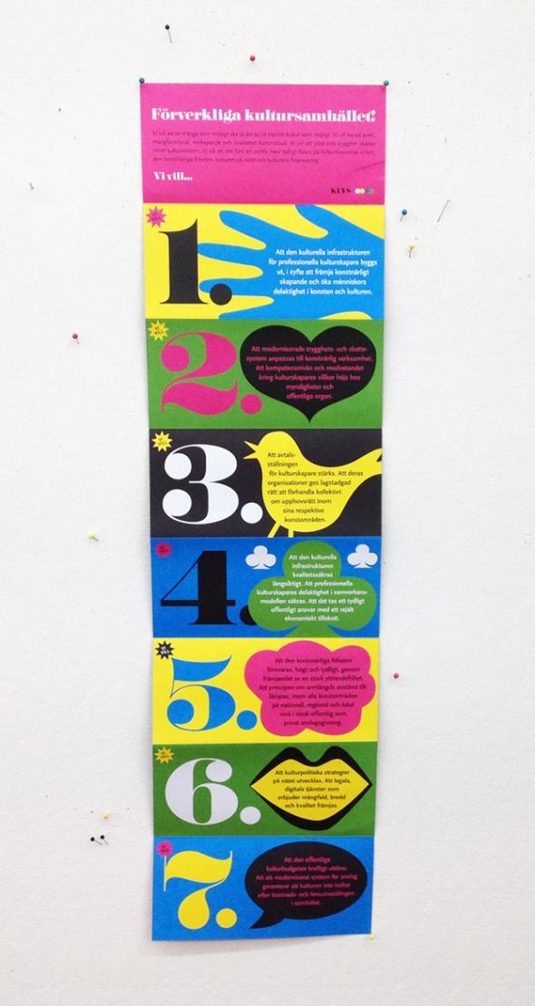affisch MANIFEST KLYS