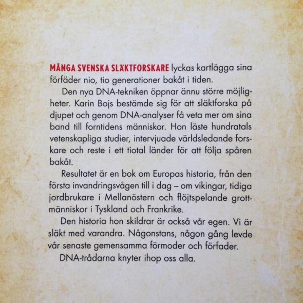 KARIN BOJS SLÄKT 2